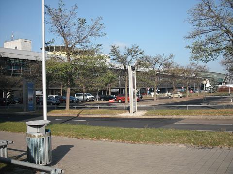 der Flughafen Leipzig - Halle