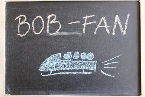 Mein Sohn ist Fan von Bobfahren