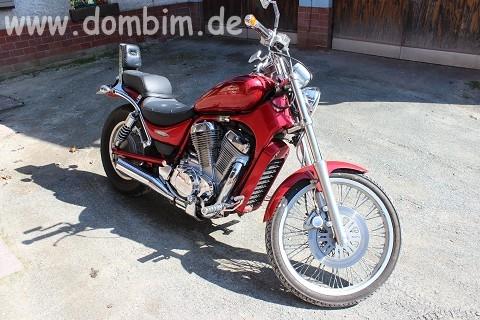Mein neues Motorrad
