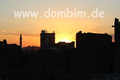 Diyarbakir Sonnenuntergang
