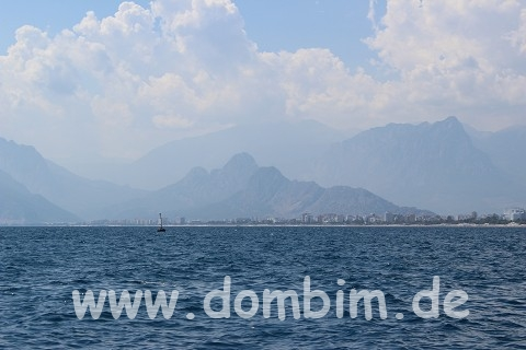 Antalya - Mittelmeer und Taurus-Gebirge