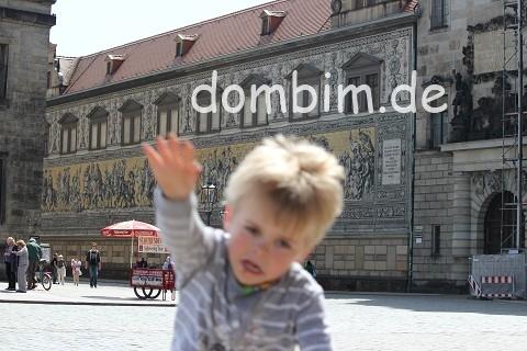 Der Fürstenzug zu Dresden zeigt alle Wettiner