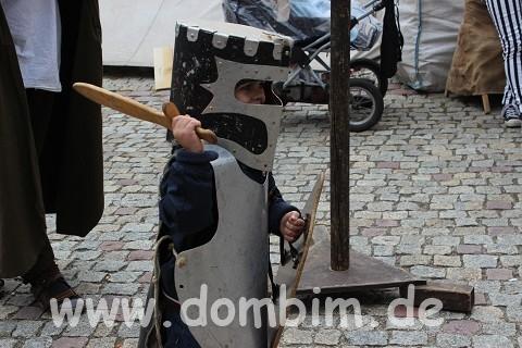 Ein Ritter aus dem Mittelalter