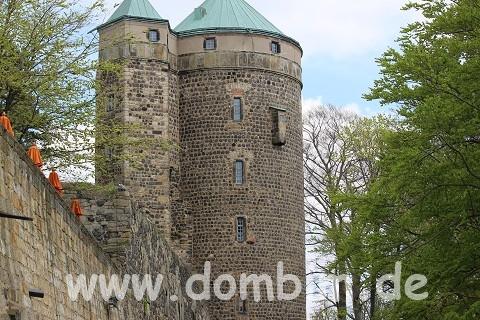 Cosel-Turm, hier lebte die Gräfin Cosel