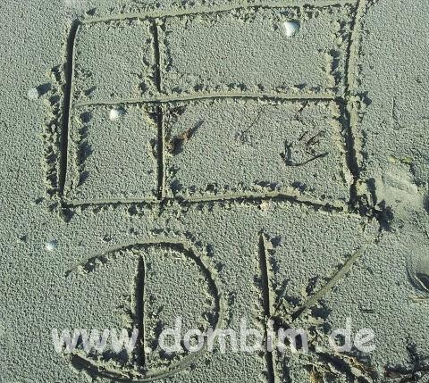 Djursland Strand in Dänemark